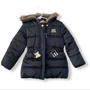 Juicy Couture Toddler Coat - 3T